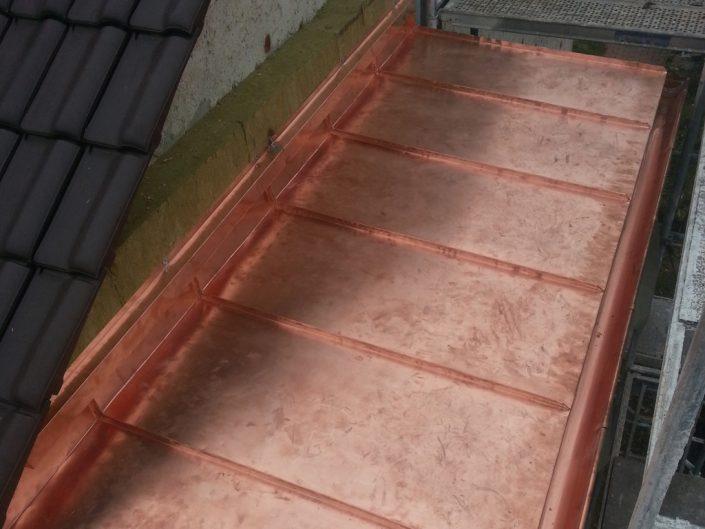 Beispielbild eines Metalldaches